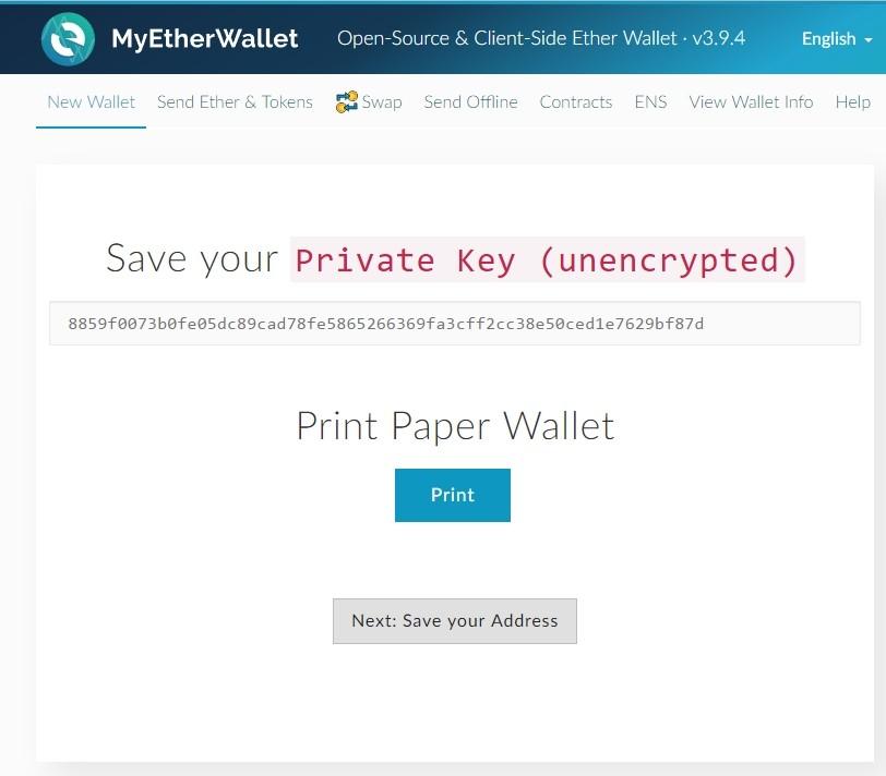Eth Paper Wallet